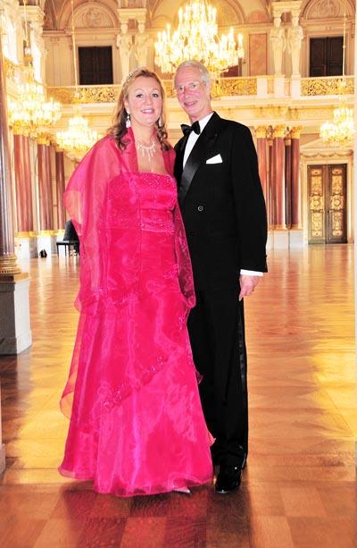 HH. Prince Waldemar zu Schaumburg-Lippe & his wife Dr. Gertraud-Antonia Wagner-Schoeppl