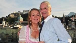 HH. Prince Waldemar & his wife Dr. Gertraud-Antonia