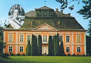Schloss Ihrer Hochfürstlichen Durchlaucht und Portrait als Testimonial für Harry Winston