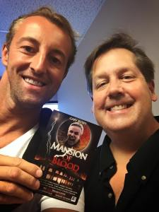Tom Tangen Producer of Mansion of Blood meets Prince Mario-Max zu Schaumburg-Lippe