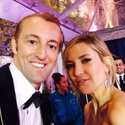 Prince Mario-Max Schaumburg-Lippe with Kate Hudson