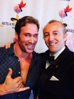 Prince Mario-Max Schaumburg-Lippe with Titan Mike O'Hearn