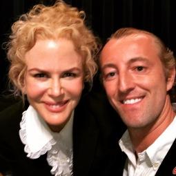 Prince Mario-Max Schaumburg-Lippe with Nicole Kidman
