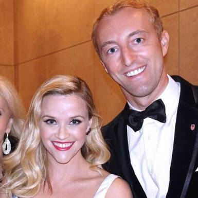Prince Mario-Max Schaumburg-Lippe with Reese Witherspoon